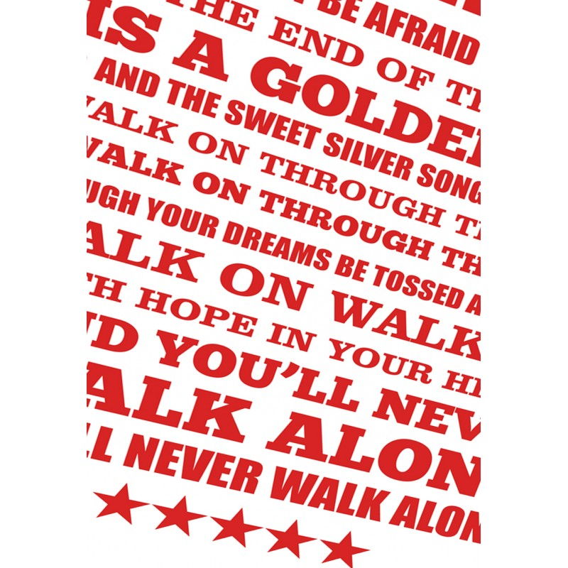 you will never walk alone liverpool song