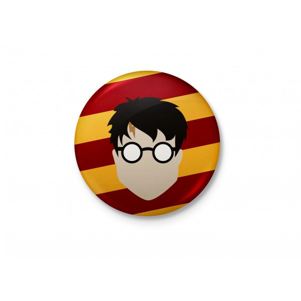 Harry Potter Minimalist Badge