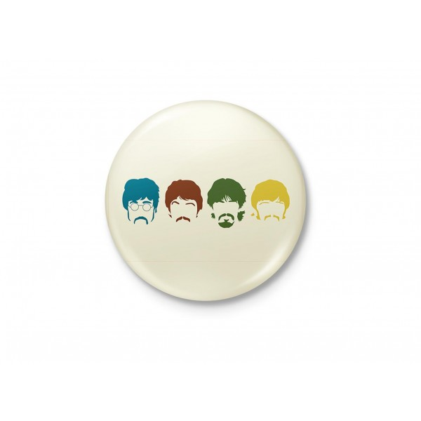 Beatles Minimalist Badge