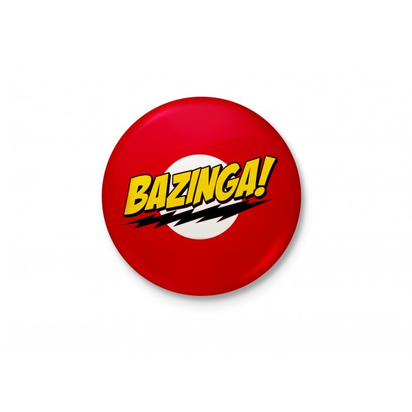 Bazinga! - Sheldon Minimalist Badge