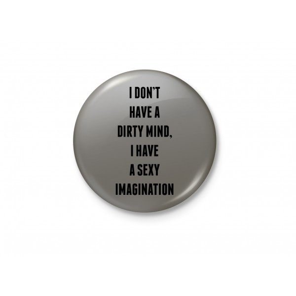 A Sexy Imagination - Typography Badge