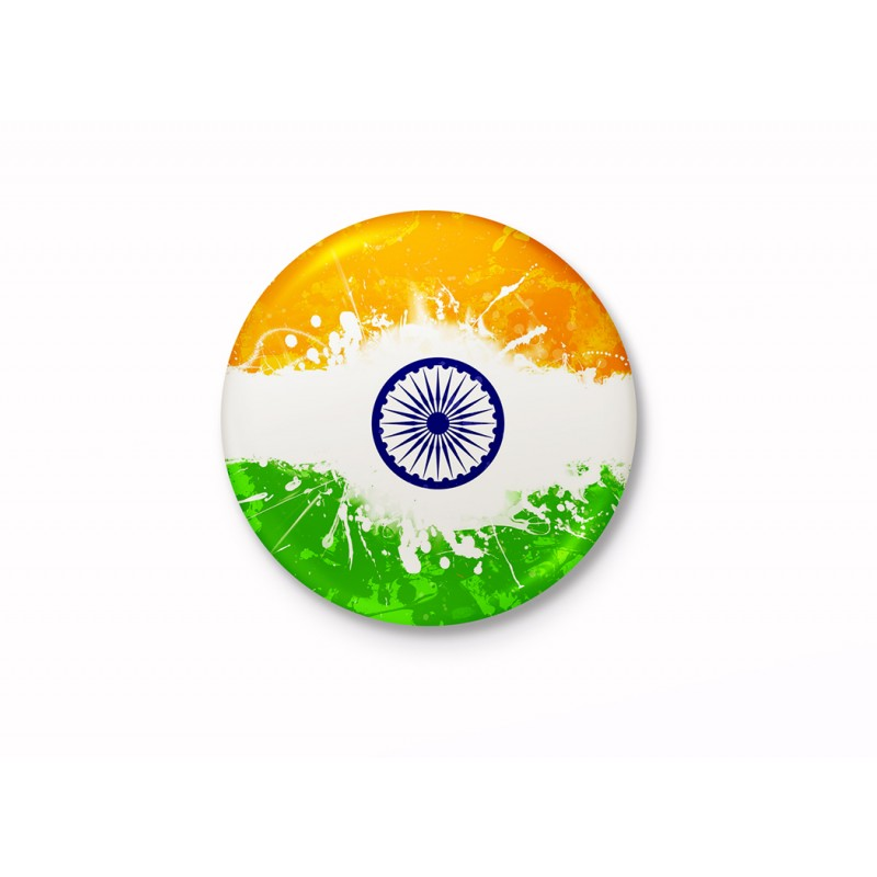 Indian National Flag Badge