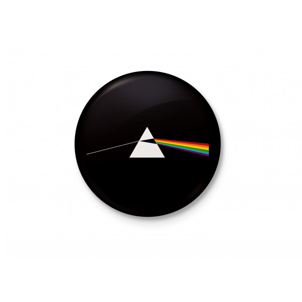 The Dark Side Prism - Minimalist Badge