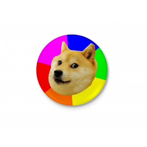 Such Amaze - Much Wow! - Doge Funny Badge