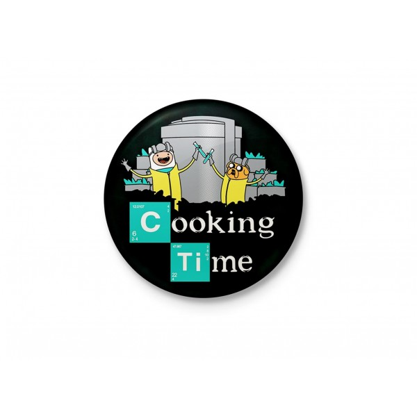 Meth Cooking Time - Breaking Bad Minimalist Badge