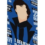 I Believe In Sherlock Holmes - Typographic Wall Poster