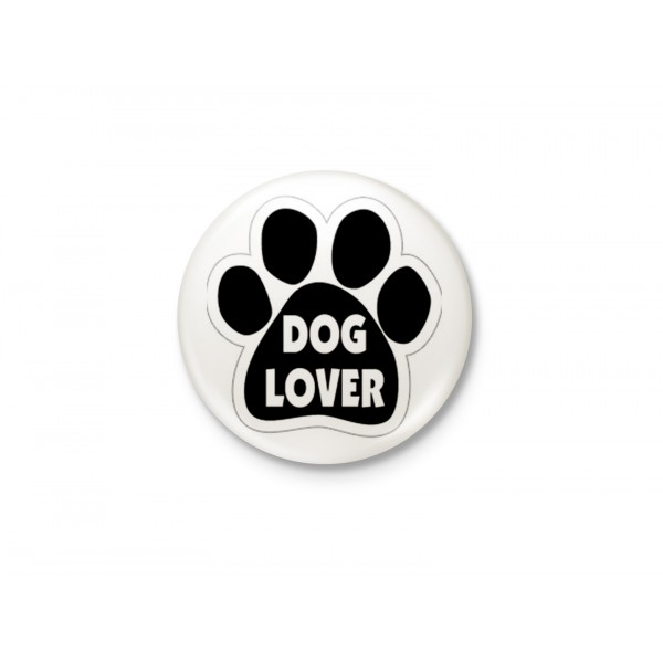 Dog Lover - Minimalist Badge
