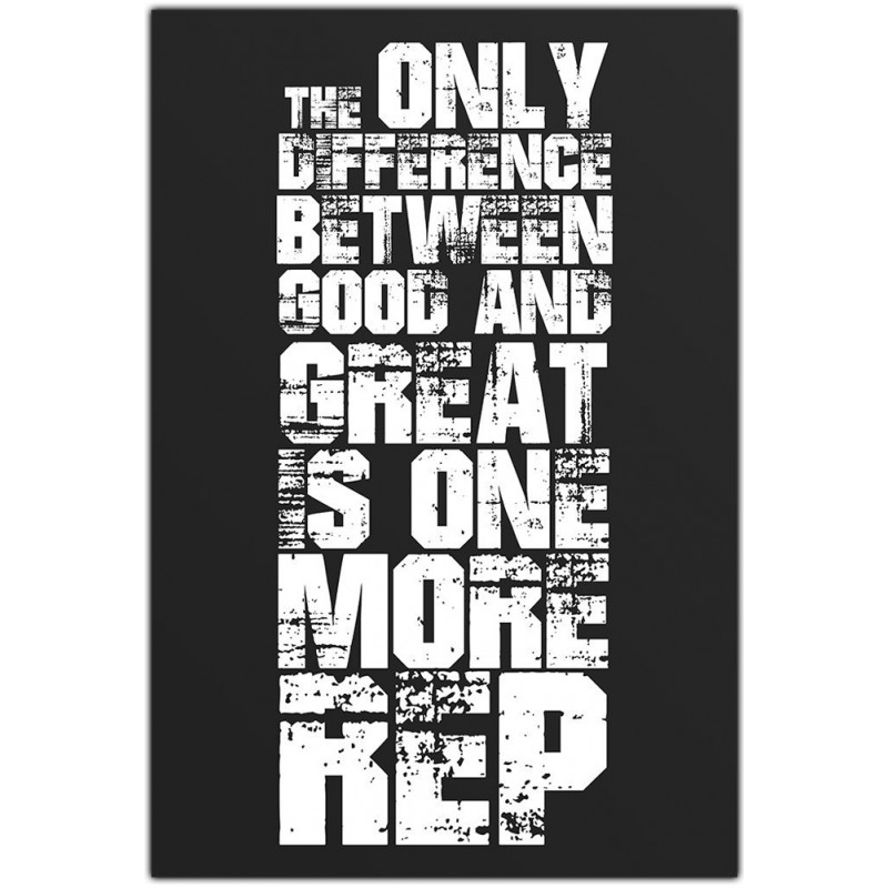 the difference between good great is one more rep alterego gym