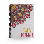 Oriental Feathers Daily Planner