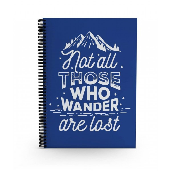 Not all who wander - Daily Planner